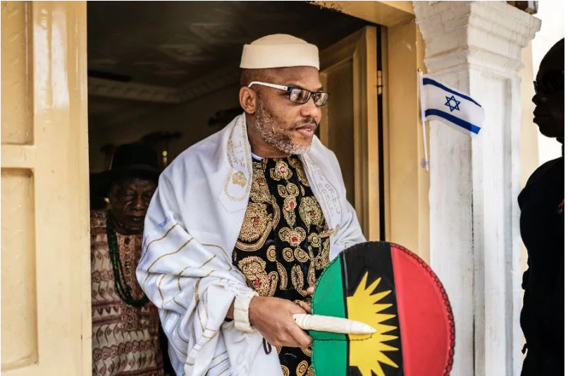 #Aisha #Buhari indirectly admitted her husband is dead- Nnamdi #Kanu, #IPOB