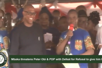 Fr. #MBAKA threatens Dr. Peter #Obi & #PDP with Defeat in 2019 Election for inability to Donate money to his Ministry