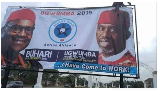 Gov. Okorocha's in-law Uche Nwosu adopts Buhari