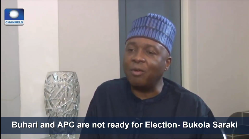 [VIDEO] #Buhari and #APC are not ready for #Election- Bukola #Saraki