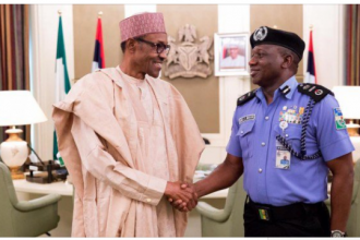 #Buhari, #IGP meet behind closed-door at Aso Rock