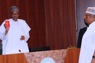 Buhari launches new Nigerian passport with 10-year validity