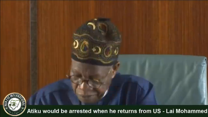 #ATIKU would be arrested when he returns from USA -Lai Mohammed