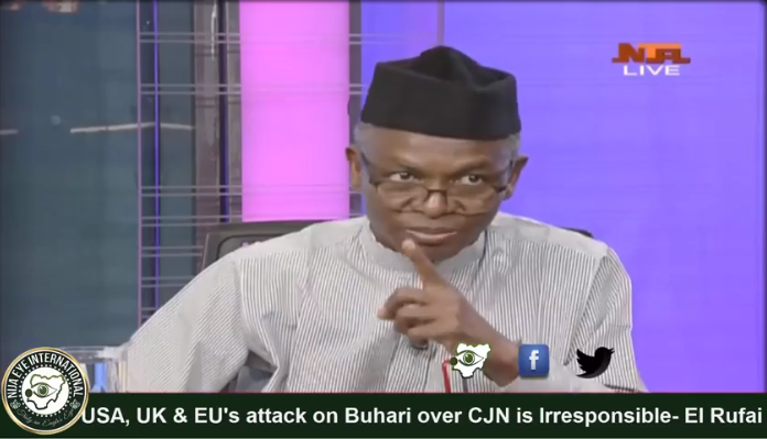 US, UK, EU's comments on Onnoghen's suspension, 'most irresponsible' —El-Rufai
