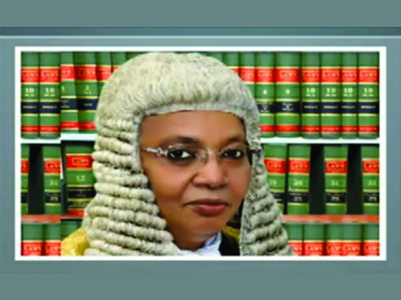 Justice #Bulkachuwa recuses herself from #Presidential Election Tribunal