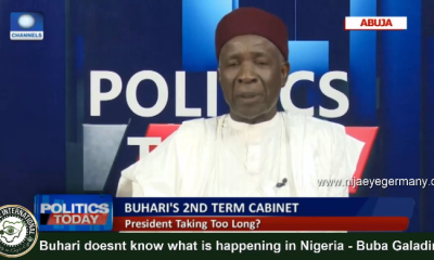 [VIDEO] #Buhari doesnt know what is going on in #Nigeria - Engr Buba #Galadima