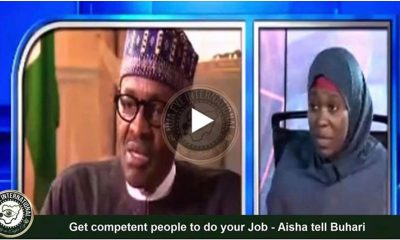 [VIDEO] You are #INCOMPETENT - #Aisha tells #Buhari