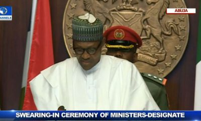 BREAKING: Buhari Assigns Portfolios To Ministers (FULL LIST)