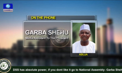 [VIDEO] #DSS has enormous powers, if you dont like it go to the National Assembly - Shehu #Garba, #Buhari's spokesman