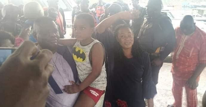 [PHOTOS]#Kidnapped son of #Bayelsa Commissioner rescued