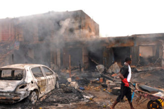 [BREAKING] Boko Haram Bomb rocks #Gamboru in #Borno