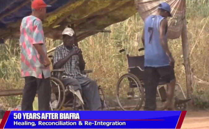 [VIDEO] Disabled #Biafra War Veterans now beggars on the road