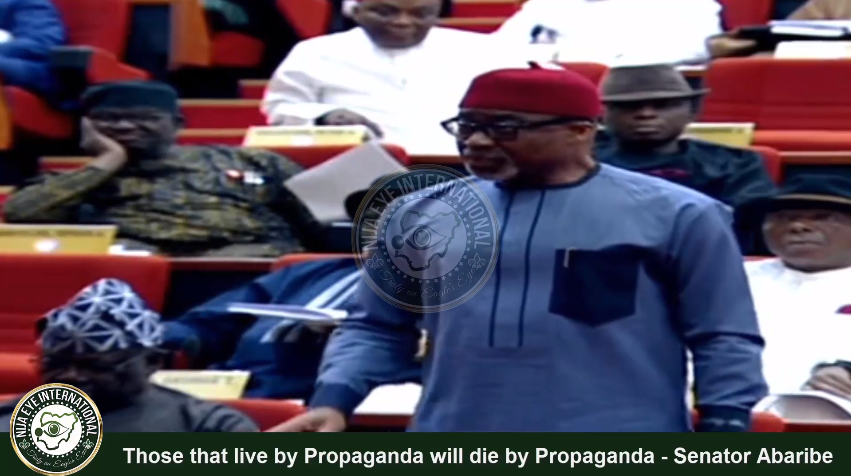 [VIDEO] Resign now or #Nigerians would stone you - #Senator #Abaribe tells #Buhari
