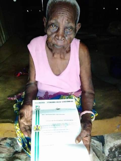 '118-year-old' woman appointed special adviser in #Bayelsa