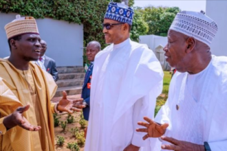 [KANO] Gov. #Ganduje and Emir of #Kano #Sanusi should sort themselves out - #Buhari