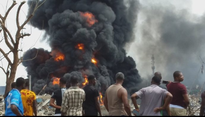 #NNPC reveals cause of #Lagos #explosion, level of damage