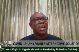 [VIDEO] #Corona Fight in #Nigeria should be headed by #Buhari or #Osinbajo, where are they? -Dr. Peter #Obi