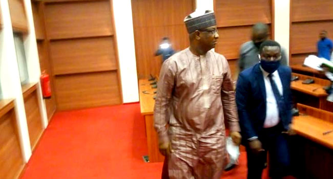 [BREAKING] #Buhari's Minister Festus #Keyamo walked out of #Senate as hearing turned ínto Shouting match over 774,000 jobs (VIDEO)