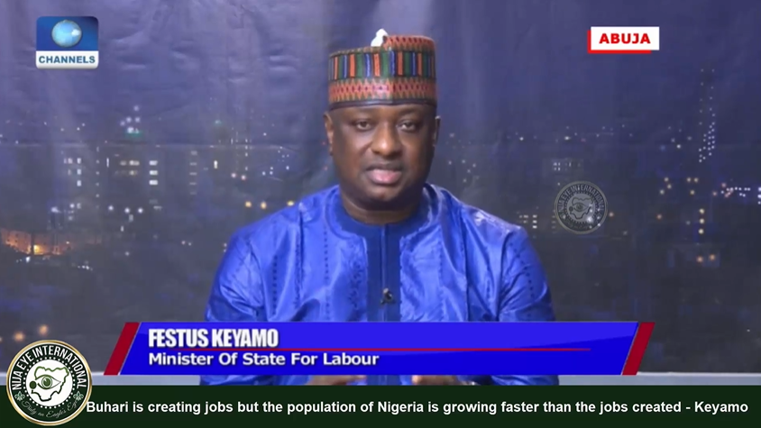 [VIDEO] #Buhari is creating jobs but the population of #Nigeria is growing faster -#Keyamo