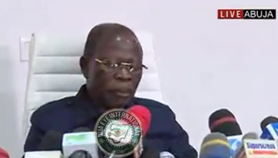 [VIDEO] I accept the party's decision On my removal & pledge absolute loyality to #Buhari - #Oshiomhole
