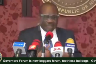 [VIDEO] Governor #Wike describes #APC led governor's forum as toothless, beggars
