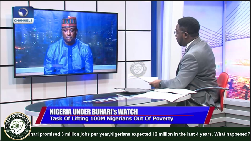 [VIDEO] #Buhari promised 3 million jobs per year, #Nigerians expected 12 million in the last 4 years. What happened?