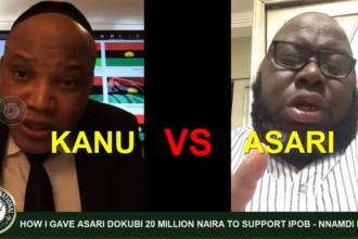 [VIDEO] How i gave Asari #Dokubo 20million Naira to support #IPOB - Nnamdi #Kanu