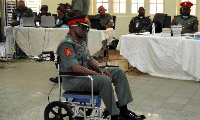 Gen Otiki, Army General from the South demoted & dismissal by Military court over missing money