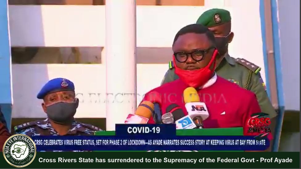 "[VIDEO] We fought a ""Good Fight"", now Cross Rivers State has to surrendered to the Supremacy of the Federal Govt - Prof #Ayade cries out"