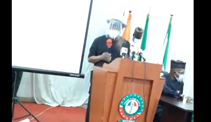 [VIDEO] #Nigeria is not a Country, if it is. Me & #Ganduje who is supposed to be isolated, We will put him into Coma - Gov #Wike