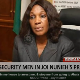 [BREAKING] #Police storms Joy #Nunieh's House, stops her from going to #Abuja to testify in the ongoing #Senate #NDDC #Probe - Joy #Nunieh (VIDEO)