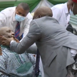 [BREAKING] #NDDC MD, #Pondei faints during Reps interrogation (VIDEO)