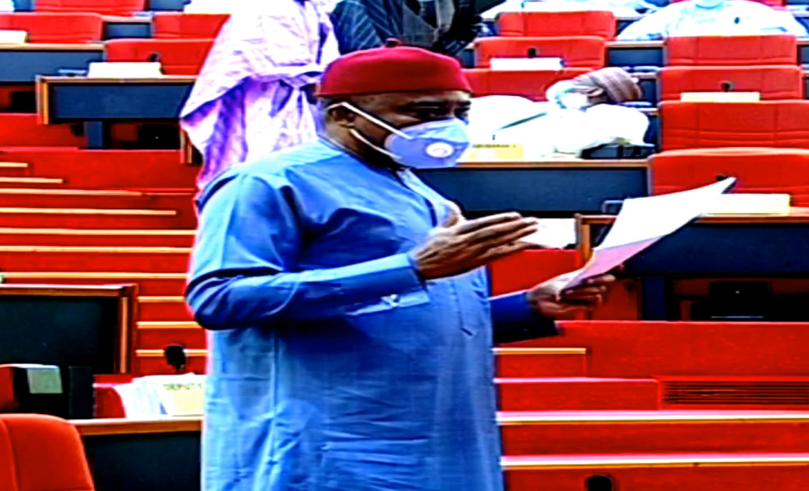 [BREAKING] #Senator #Abaribe challenges #Buhari's #PENCOM DG nominee because she is from north-east