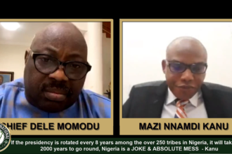 [VIDEO] #Nigeria is a Joke & absolute Mess, if you rotate the #presidency every 8 years among the over 250 #tribes in Nigeria, it will take over 2000 years to go round - Nnamdi #Kanu, #IPOB Leader