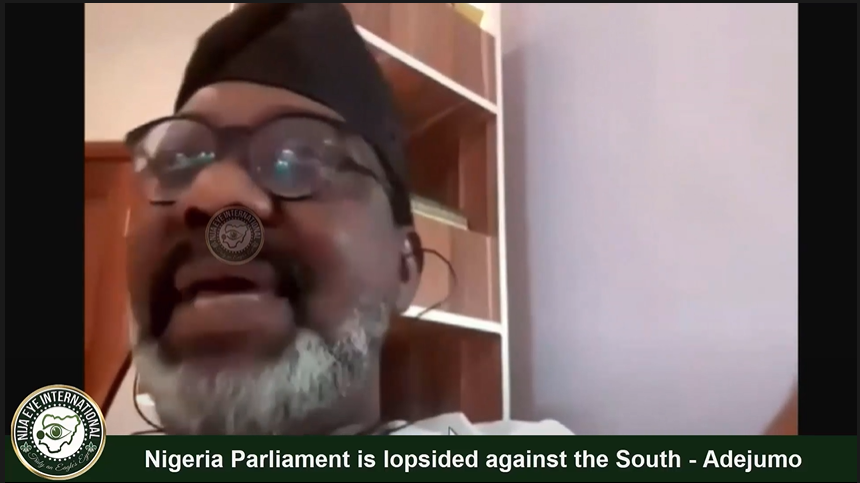 [VIDEO] How can 20 Reps from #Lagos negotiate with 100 Reps from #Kano, #Nigeria #Parliament is a scam against the #South - #Adejumo