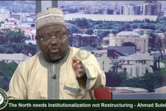 [VIDEO] The #North needs #Institutionalization not #Restructuring - Ahmad #Suleiman