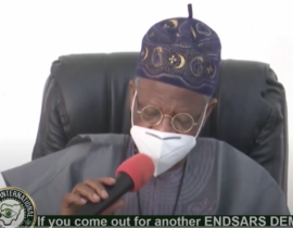 [VIDEO] If you come out for another #ENDSARS DEMO, We will Deal with you -Lai Mohammed warns