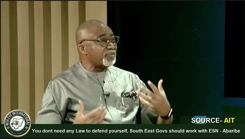 [VIDEO] You dont need any Law to defend yourself, South East Govs should support #ESN - Sen #Abaribe
