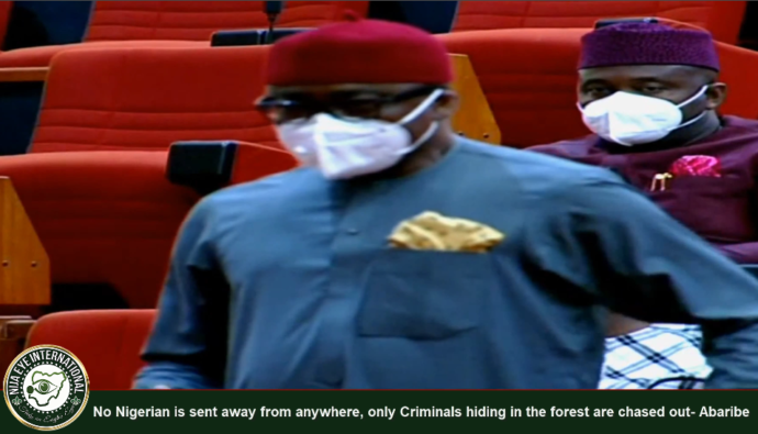 No Nigerian is sent away from anywhere, only Criminals hiding in the forest are chased out- Abaribe