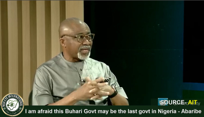 [VIDEO] I am afraid this #Buhari Govt may be the last govt in #Nigeria - Sen #Abaribe