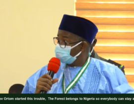 [VIDEO] Gov #Ortom of #Benue started this trouble, The Forest belongs to #Nigeria so everybody can stay anywhere - Gov Bala #Mohammed of #Bauchi