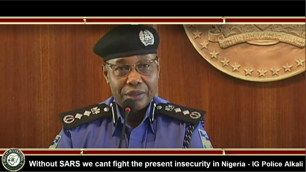 [VIDEO] Without #SARS we cant fight the present insecurity in Nigeria - IG #Police #Alkali