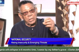 [VIDEO] Nigeria will collapse in 6 months, I swear by my father's grave - Clarke (SAN) declares